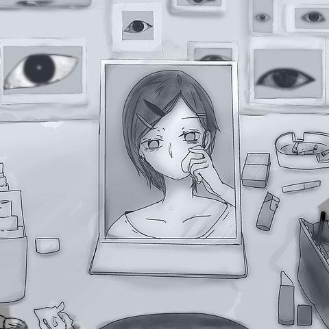 目線の画像(プリ画像)