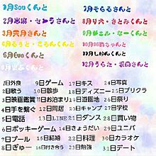 誕生日占い歌い手Ver.の画像(占いに関連した画像)