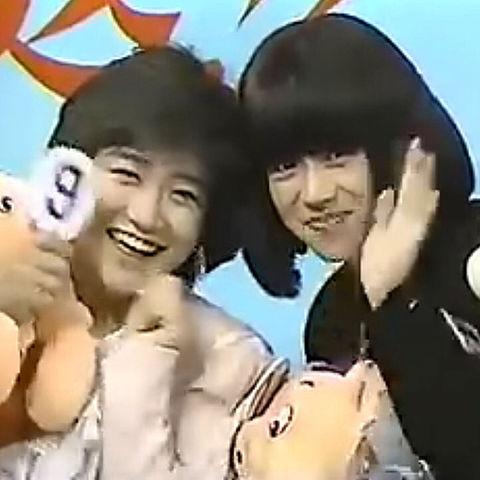 明菜ちゃんと有希子ちゃんの画像(プリ画像)