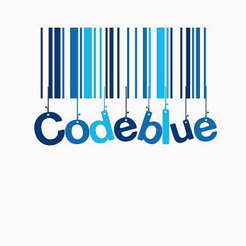 コードブルー バーコードの画像(プリ画像)