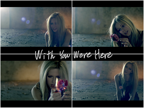 avril lavigne/With you were hereの画像(プリ画像)