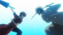 沖田総悟&神楽の画像(万事屋銀ちゃんに関連した画像)