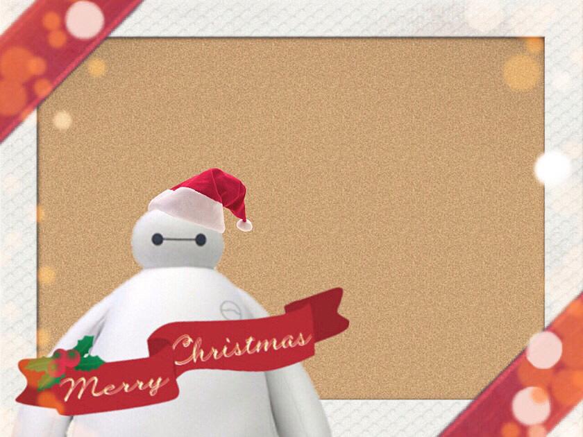 クリスマスのベイマックス