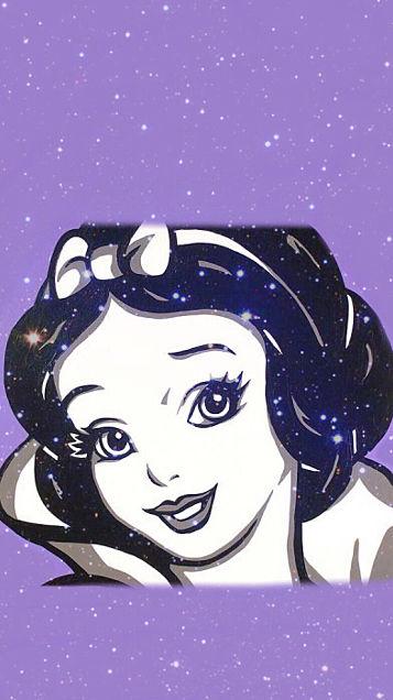 星空の中の白雪姫