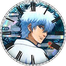 坂田銀時で時計加工してみた( ´,,•ω•,,`)♡の画像(銀時に関連した画像)