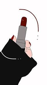 Red lipの画像(赤リップに関連した画像)