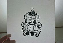 トド松切り絵の画像(プリ画像)