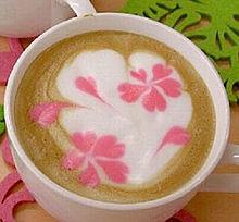 コーヒーアートの画像(プリ画像)