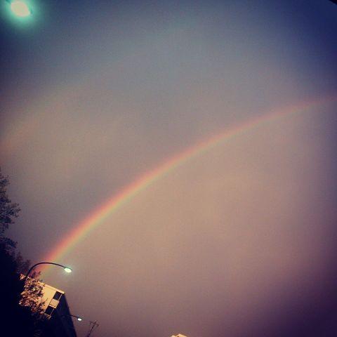 虹     無断×の画像 プリ画像