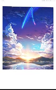 糸守町、糸守湖    ティアマト彗星の画像(彗星に関連した画像)
