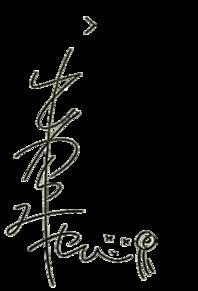 みやび サイン背景透明