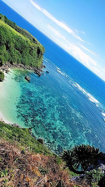 すぐ消します笑   多分…笑    沖縄の海✨笑の画像(プリ画像)