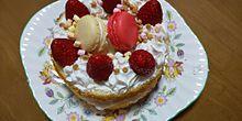 マカロンケーキ プリ画像