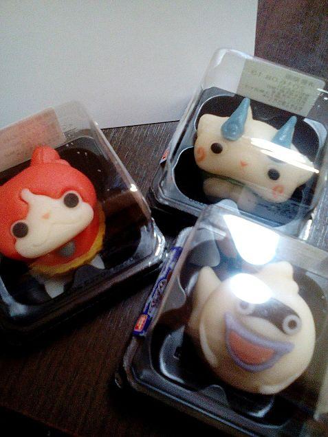 妖怪ウォッチ和菓子の画像(プリ画像)