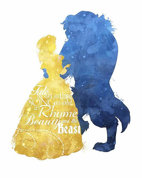 beauty and the beastの画像(プリ画像)