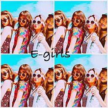 E-girls加工の画像(プリ画像)