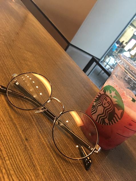 スタバ&メガネの画像(プリ画像)