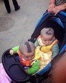 双子の見分け方が(笑)の画像(面白い(爆笑) ウケるに関連した画像)