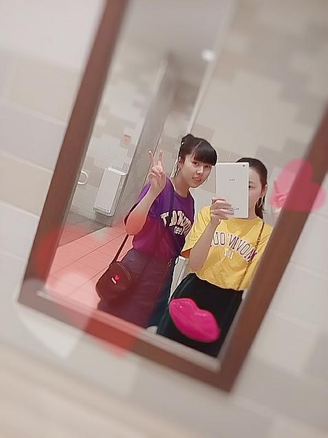 鏡♥おそろ💓の画像(プリ画像)