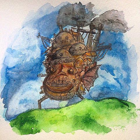 ハウルの動く城の画像(プリ画像)