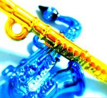 ミニ楽器の画像(サックスに関連した画像)