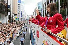 ロンドン五輪メダリスト銀座凱旋パレードの画像(ロンドン五輪に関連した画像)