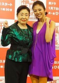 中村玉緒さんと白石美帆さんの画像(白石美帆に関連した画像)