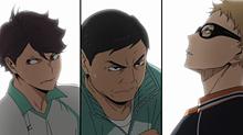 ツッキー、及川さん、入畑監督の画像(プリ画像)
