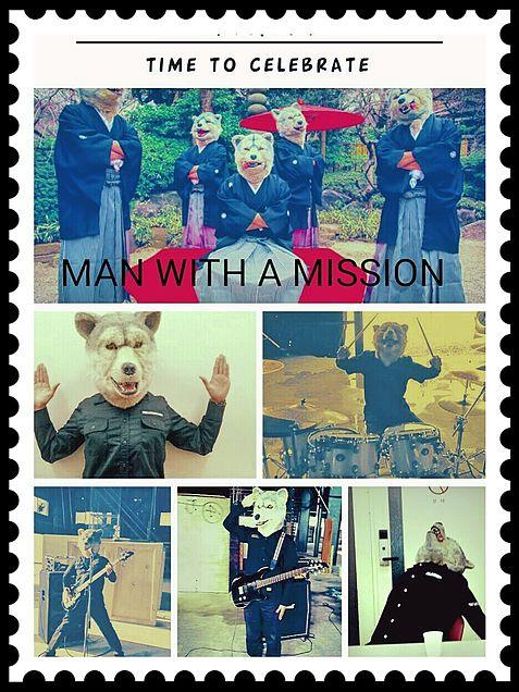 MAN WITH A MISSIONの画像(プリ画像)