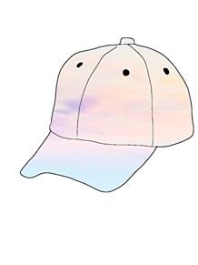 キャップ帽 プリ画像