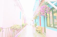 韓国の街 プリ画像