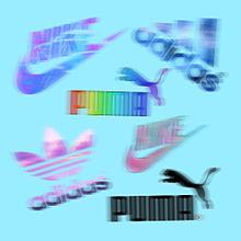 スポーツブランドロゴの画像(スポーツに関連した画像)