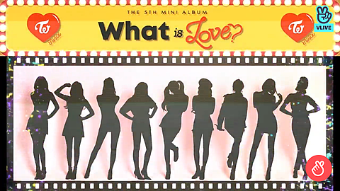 TWICE What is Love?シルエットverの画像(プリ画像)