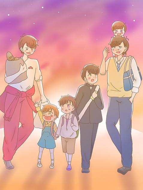 おそ松さん 六人兄弟の画像(プリ画像)