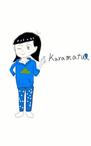 カラ松 女の子‼ プリ画像