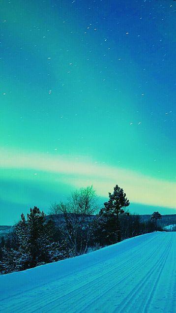 雪道の画像(プリ画像)
