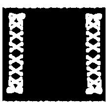 白 フリル 編みこみの画像(編みこみに関連した画像)