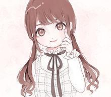 女の子の画像(アイコンに関連した画像)