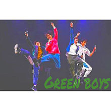 Green boys プリ画像