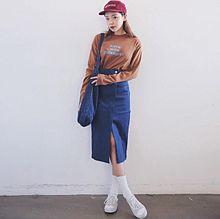 オルチャンファッション 秋服❤︎の画像(プリ画像)