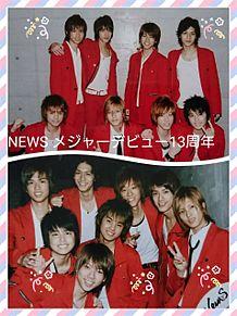 NEWSメジャーデビュー13周年の画像(プリ画像)