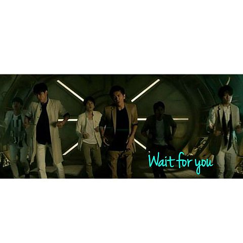 V6   Wait for youの画像(プリ画像)