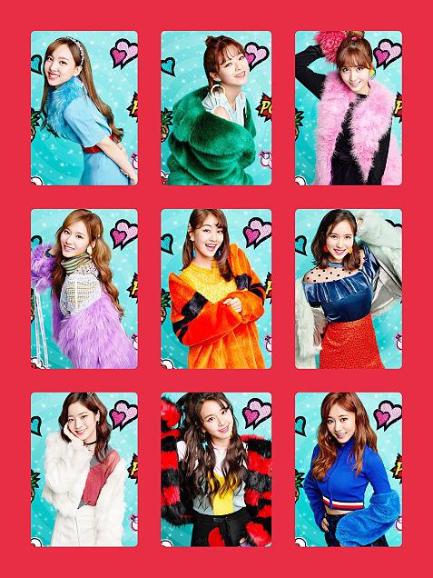 TWICE allメンバー トレカ用画 candypopの画像 プリ画像