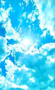 太陽と空の画像(太陽とに関連した画像)