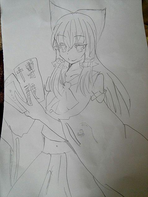 博麗 霊夢小6が描いてみたの画像(プリ画像)