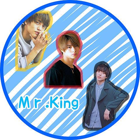 アイコン  ♡♡Mr.King♡♡バージョンの画像(プリ画像)