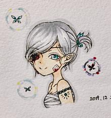 闇落ちエルフ 白銀の姫の画像(エルフに関連した画像)