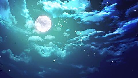 月 夜空の画像(プリ画像)