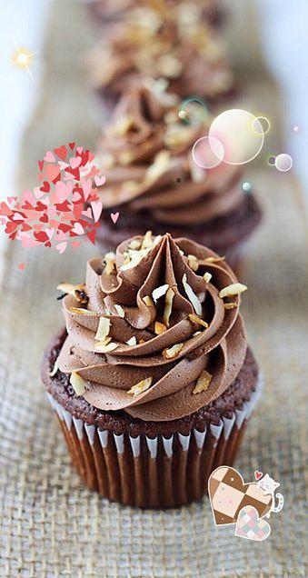チョコカップケーキの画像(プリ画像)