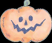 ハロウィン かぼちゃ 素材の画像(プリ画像)